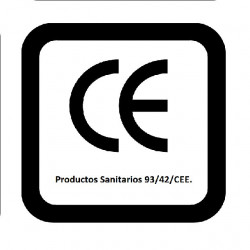 Productos Sanitarios homologados y certificados 93/42/CEE.