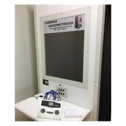 Cabina Audiométrica insonorizada para audiometrías en reconocimientos médicos