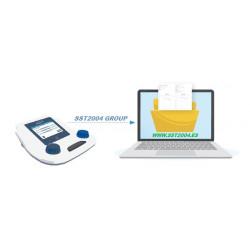 Exportar audiometrias Audiómetro Silbelsound DUO SIBELMED