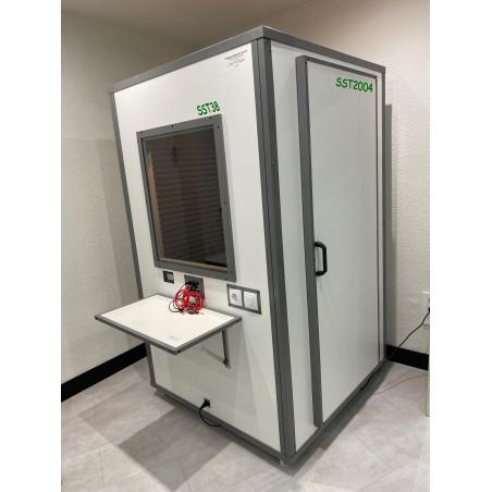 Cabina Audiometría C38 de 120x120 para gabinetes audiológicos