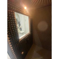 Cabina Audiométrica 120x120 SST38-B para gabinetes audiológicos