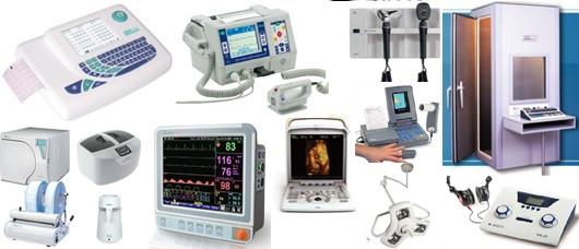 Electromedicina, Equipos médicos, Equipos Psicotécnicos, Cabinas insonorizadas, Audiómetros, Espirómetros,  Electrocardiógrafos, Control Visión, CRC